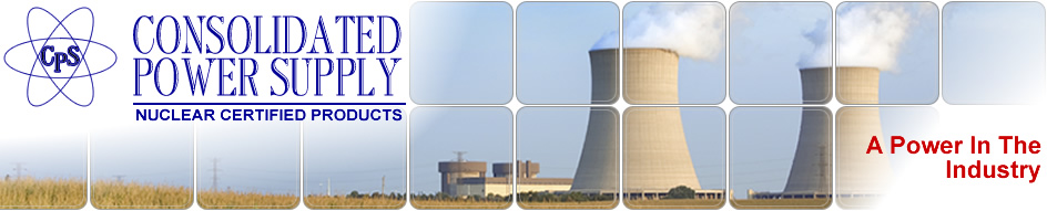 Consolidated Power Supply - Nuclear Certified Products