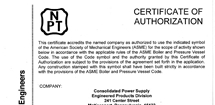 NPT Quality Certification